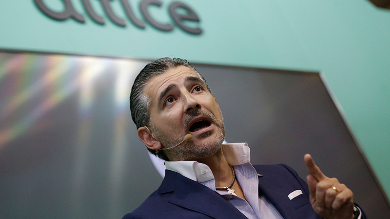 CEO da Altice Portugal critica reguladores pelo estado atual do setor de media