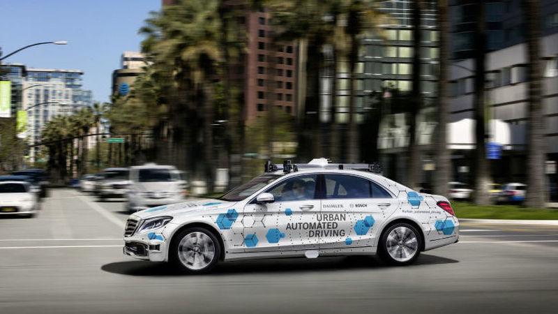 San José poderá ser cidade piloto para táxi autónomo da Bosch e Daimler
