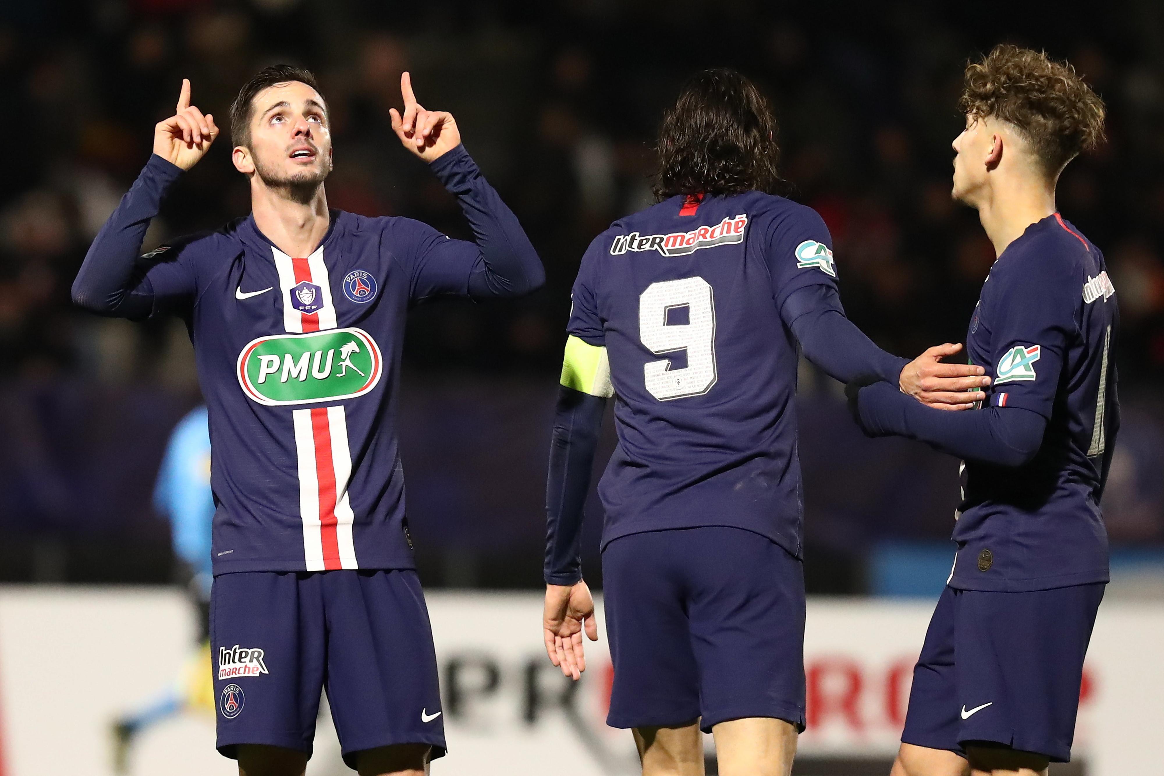 Golo de Sarabia apura PSG para os 'oitavos' da Taça de França