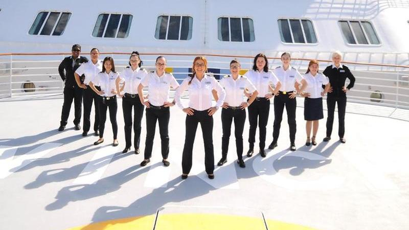 O primeiro cruzeiro de todos os tempos com tripulação exclusivamente feminina será lançado em 2020