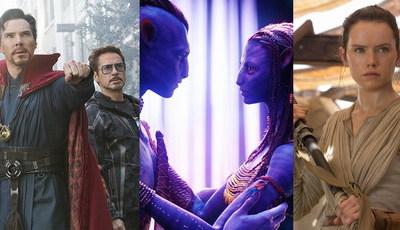 Bilheteiras: os 34 filmes que fizeram mais de mil milhões de dólares