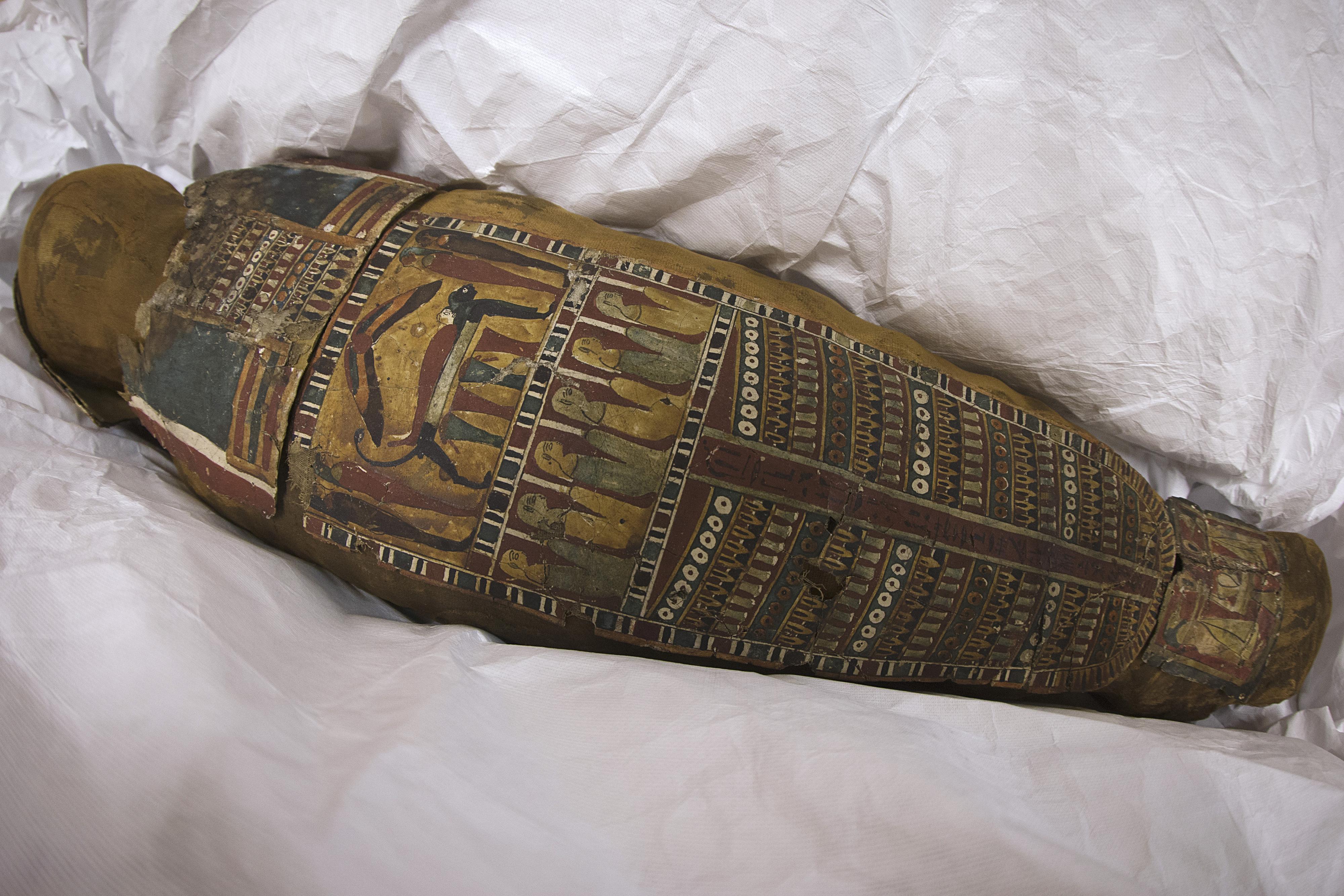 Museu Egípcio do Cairo exibe 'múmia que grita'