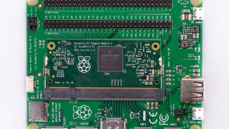 Chegou o novo Raspberry Pi Modular 3