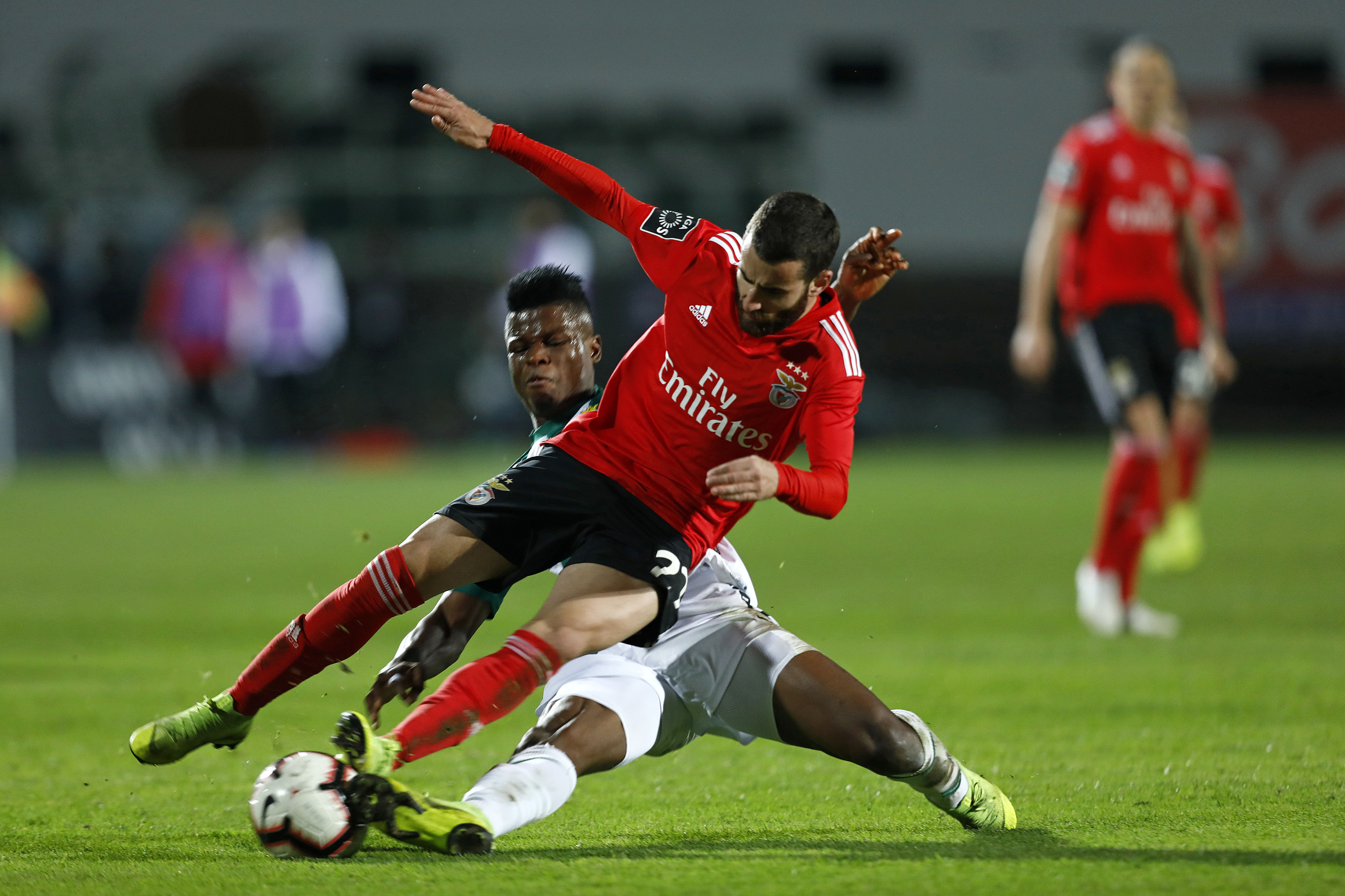 Benfica: Rafa tem rotura muscular na coxa esquerda