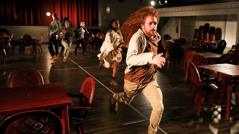 Filomena Cautela faz de Filomena Cautela em espetáculo exibido esta semana nas catacumbas de Londres