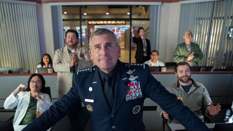 """Crítica """"Space Force"""": Steve Carell lidera série e armada que nunca chegam a descolar"""