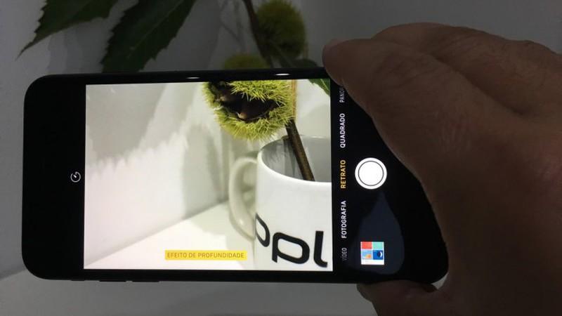 Apple lança iOS 10.1 com novo modo Retrato para iPhone 7 Plus