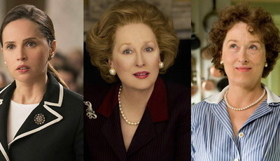 A tentação dos filmes baseados em pessoas reais: de Felicity Jones a Meryl Streep, há de tudo