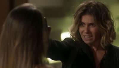 Esta semana em 'Segundo Sol', Luzia aponta arma a Karola