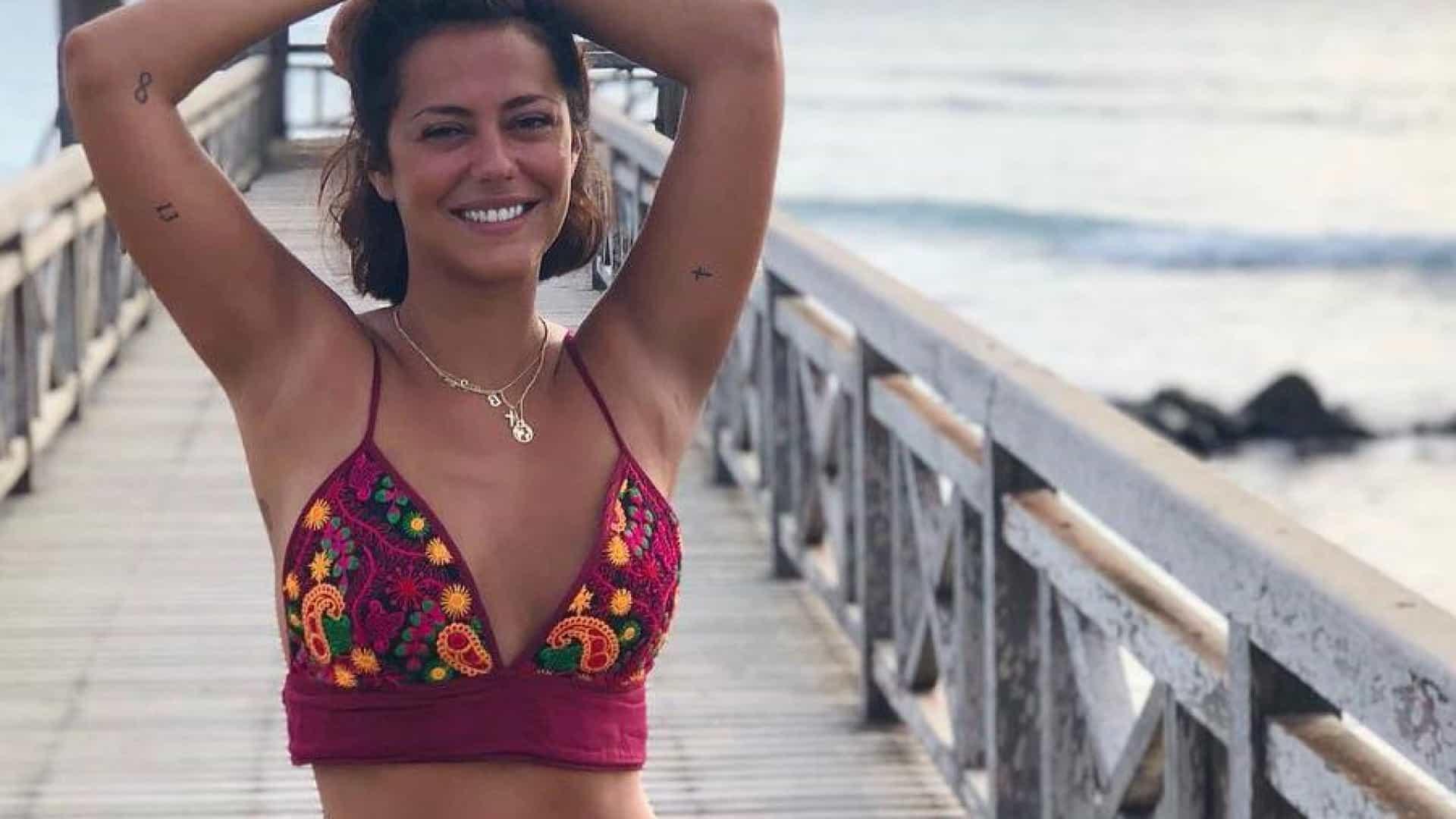 Vídeo: Sofia Ribeiro responde a rumores de grávida