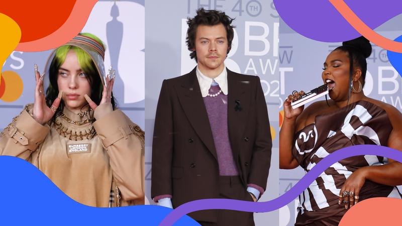 De Billie Eilish a Harry Styles: as estrelas na passadeira vermelha dos Brit Awards