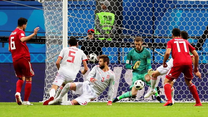 Mundial2018: Membro da seleção iraniana hospitalizado depois de VAR anular golo ao Irão