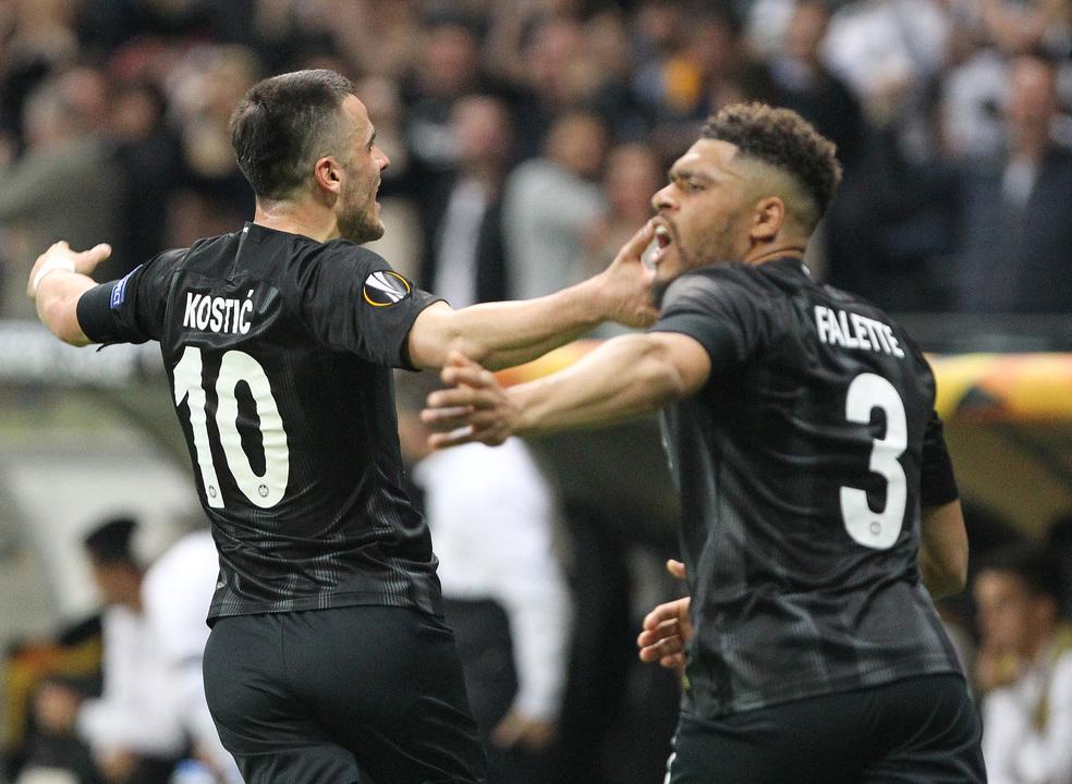 Eintracht Frankfurt elimina Benfica 'sem chama' na Liga Europa