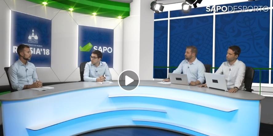 SAPO Desporto no Mundial: A análise ao Portugal - Marrocos