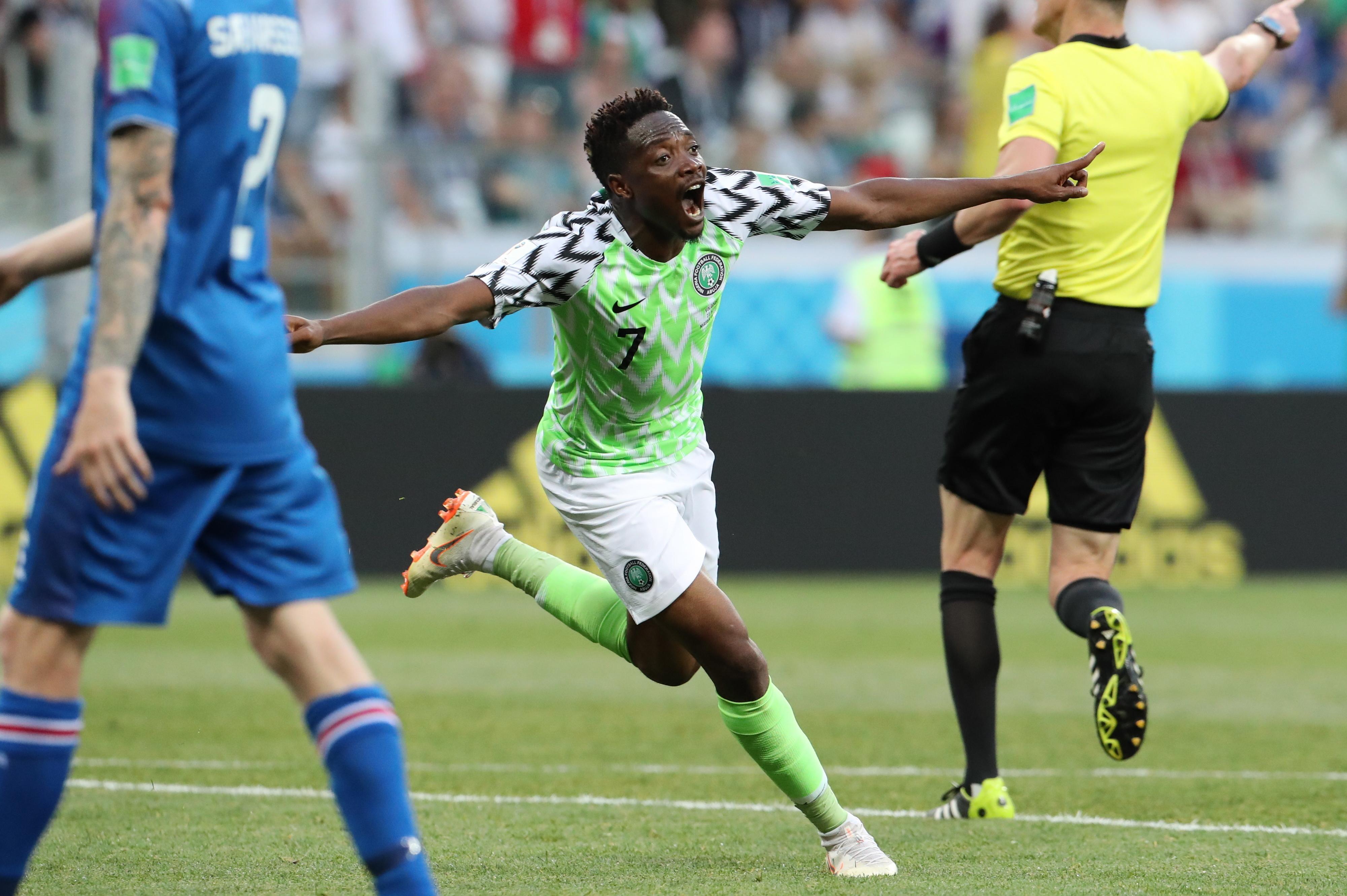 Nigéria bate Islândia com 'bis' de Musa e é segunda do Grupo D
