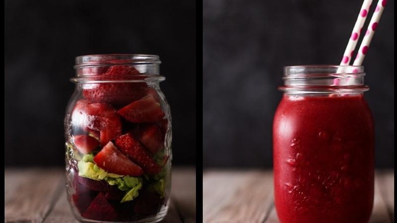 Batidos de fruta com muito sabor e sem açúcares processados