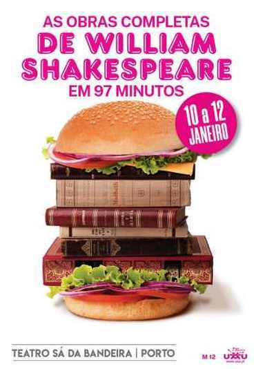 As obras completas de William Shakespeare em 97 minutos