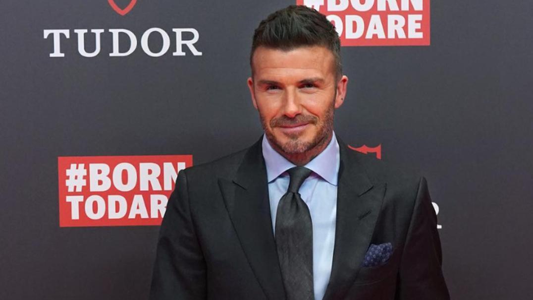David Beckham põe as mãos na massa e mostra dotes para a cozinha