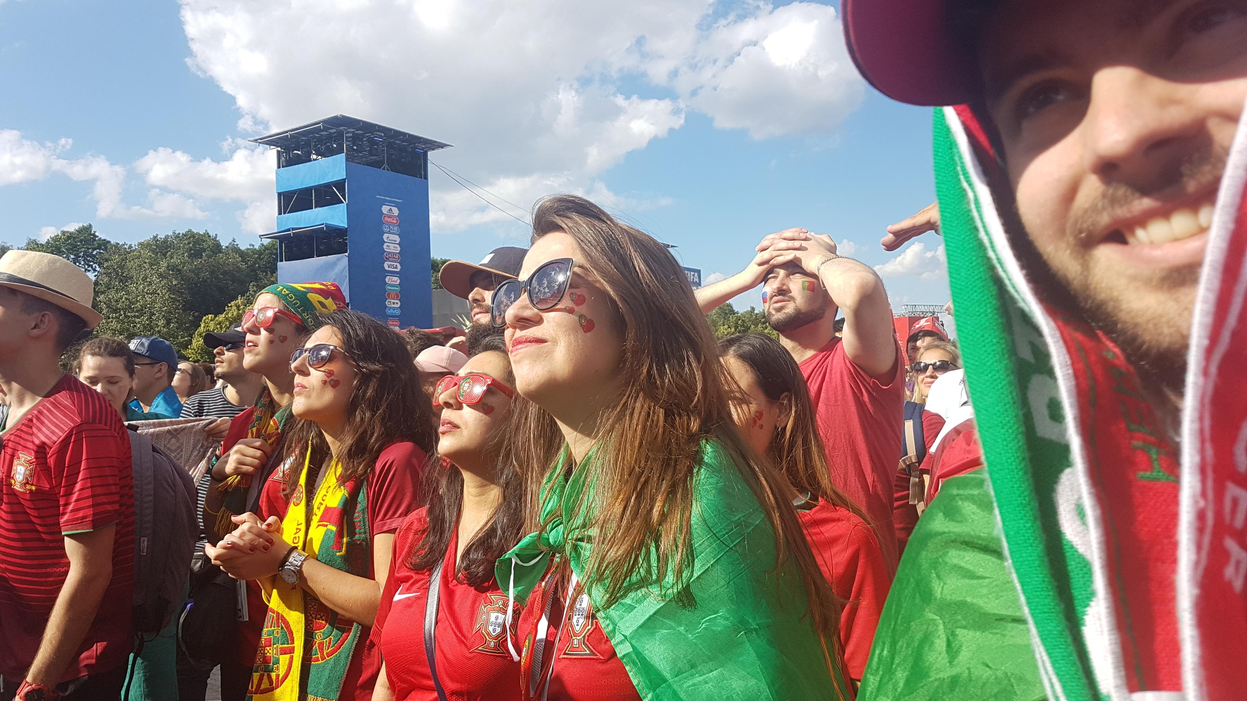 #DiárioDaRússia. Portugal-Marrocos: A crónica dos que não deviam estar ali
