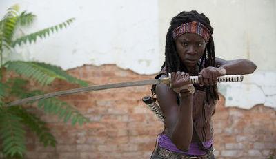 """Adeus, Michonne: décima temporada de """"The Walking Dead"""" será a última com Danai Gurira"""