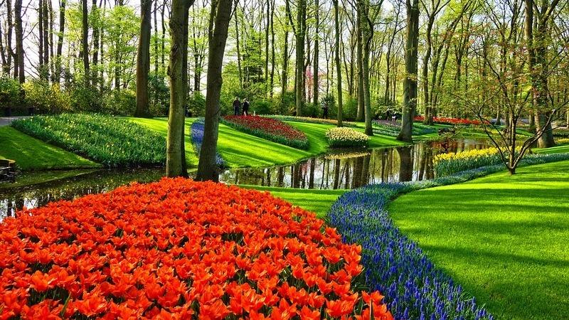 Tradições da primavera à volta do mundo