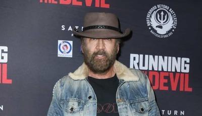 Nicolas Cage quase irreconhecível em estreia de filme