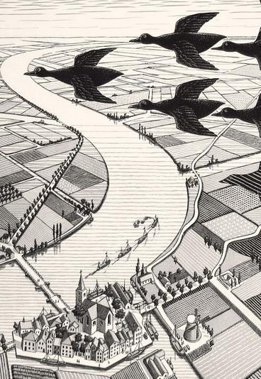"""Ganhe uma de 5 entradas duplas para a exposição """"Escher"""""""