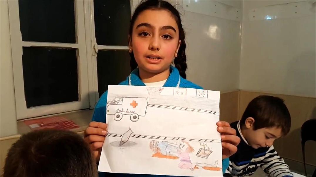 A mensagem das crianças sírias aos políticos europeus