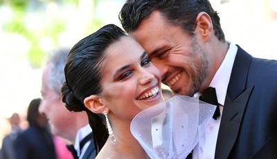 Em Cannes, Sara Sampaio e namorado espalham amor pela passadeira vermelha