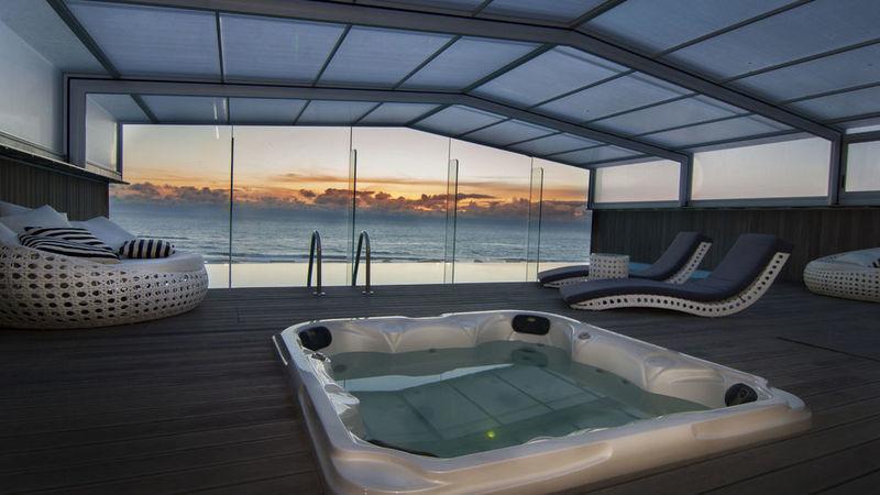 Sugestões de hóteis com piscina interior