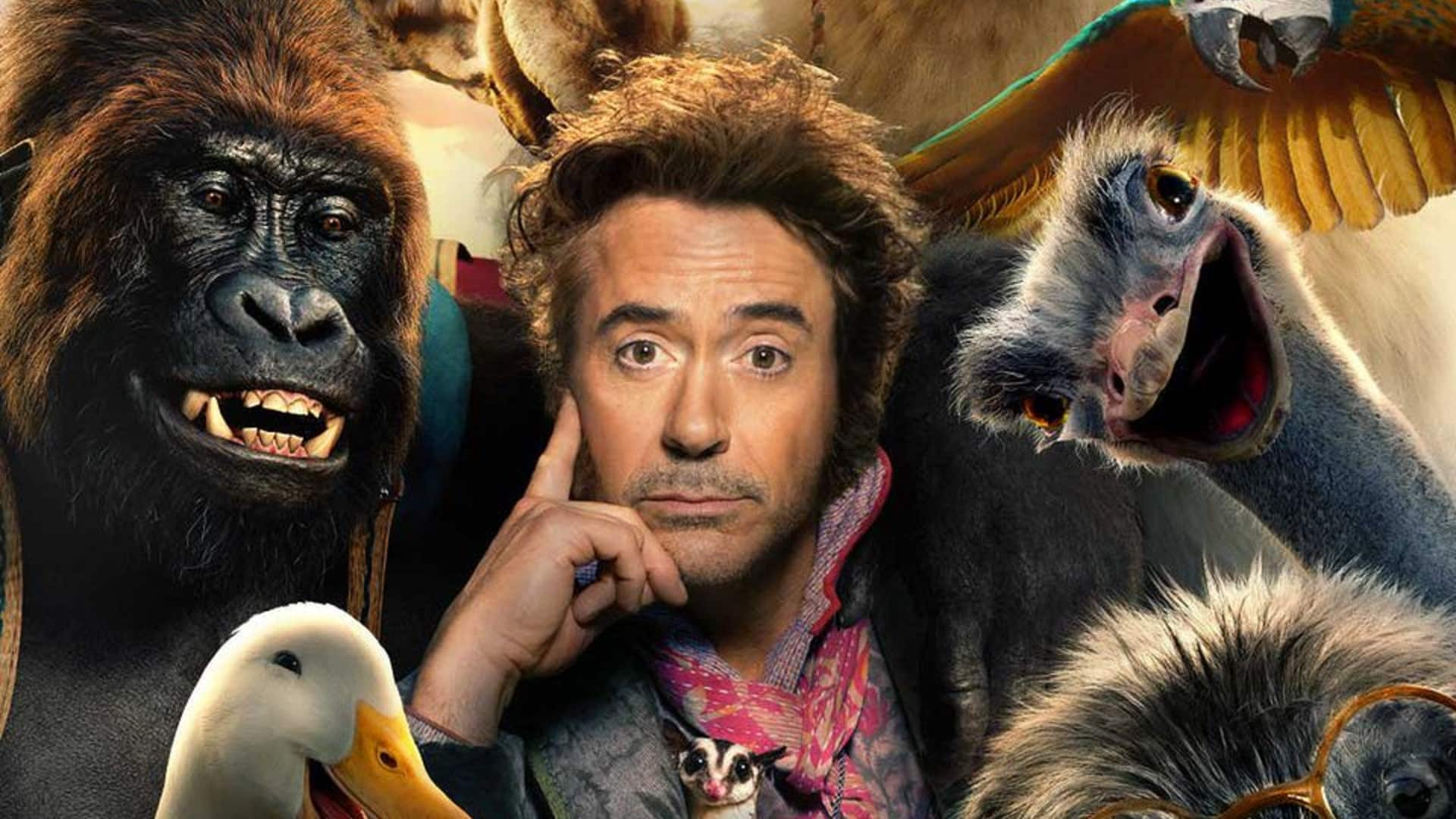 "Robert Downey Jr. fala com os animais: o primeiro trailer de ""As Aventuras do Dr. Dolittle"""
