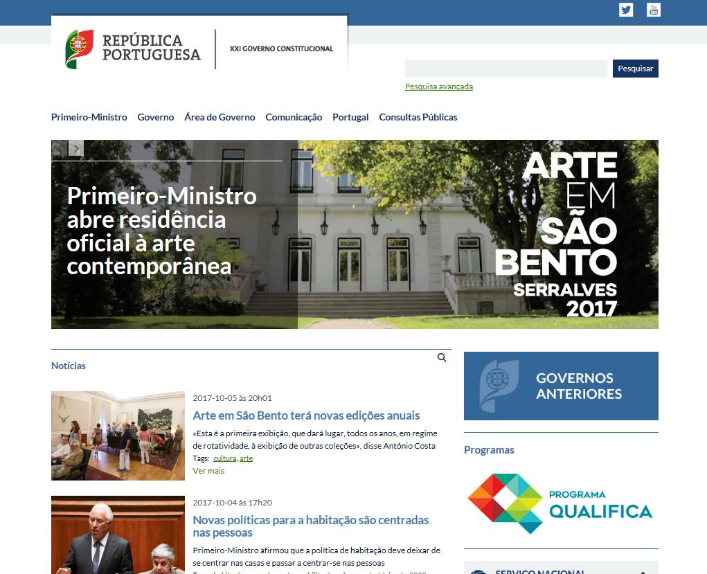 h u00e1 um novo portal do governo online com mais informa u00e7 u00e3o e