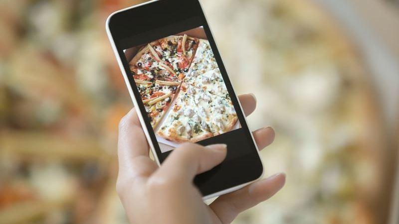 Tire as melhores fotos de comida para as redes sociais