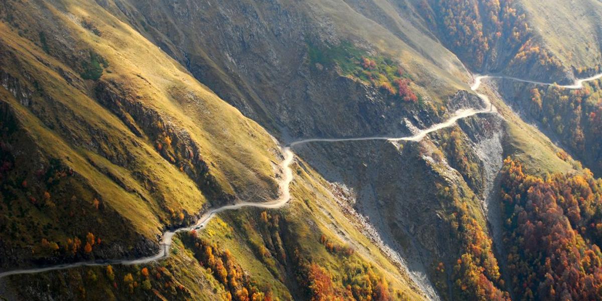 Cuidado! Esta é uma das estradas mais perigosas do mundo