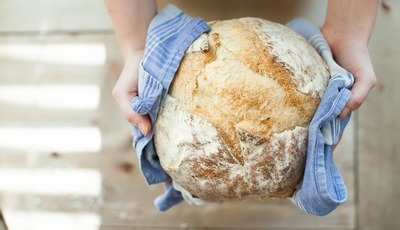 Levámos o bom pão à consulta de nutrição e saiu com louvor e recomendação