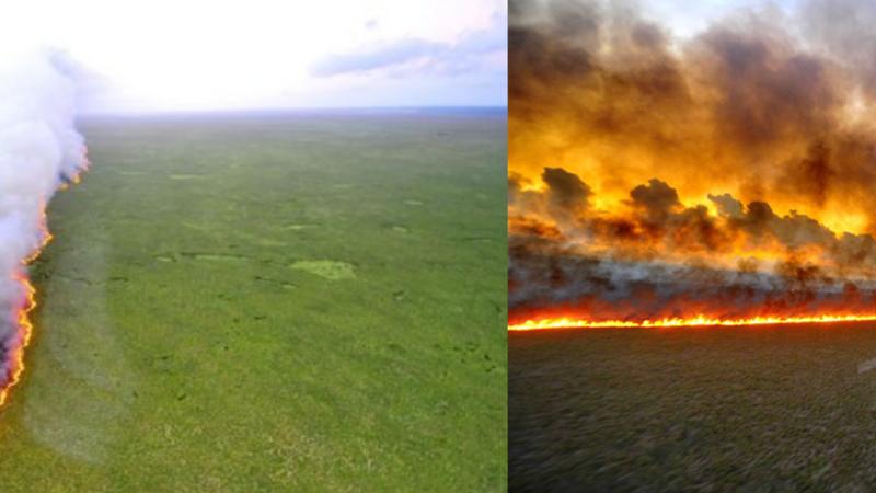 Atenção: estas fotos não são dos fogos na Amazónia