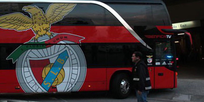 Benfica já se encontra em Gaia