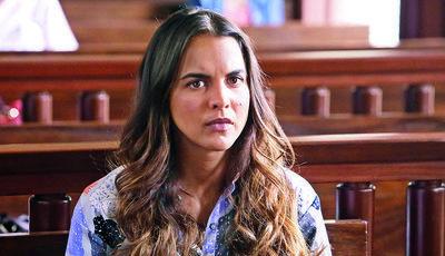 Esta semana 'Vidas Opostas', Maria é acusada de assassinato