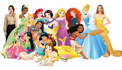 Como seriam as celebridades se fossem personagens da Disney? Uma artista ucraniana já as imaginou