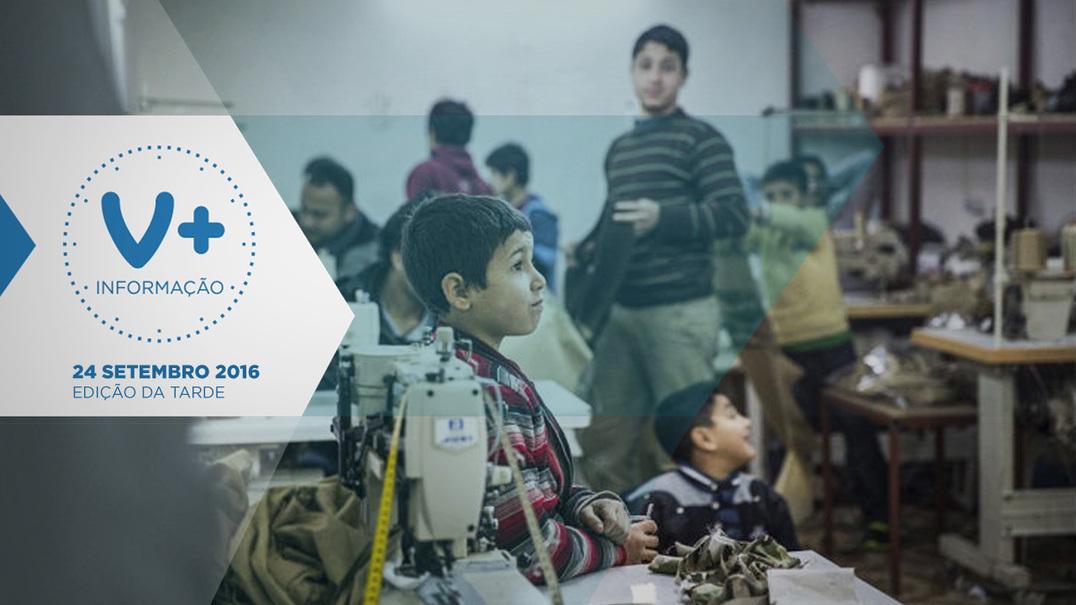 Roupa da Zara e Mango feita por crianças refugiadas
