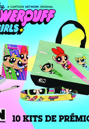 Ganhe kits das Powerpuff Girls