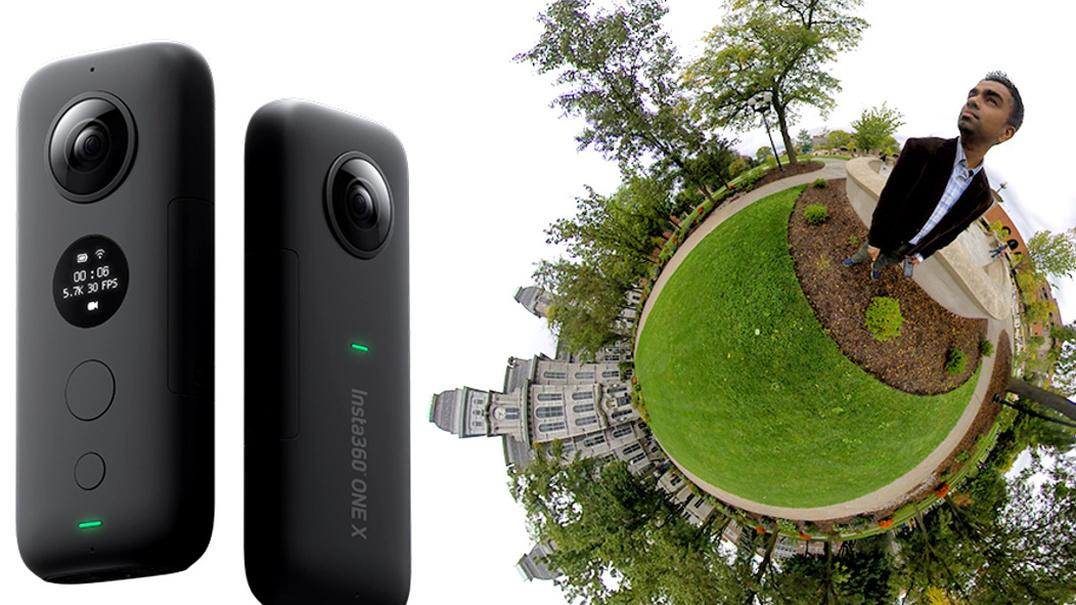 ONE X promete imagens a 5,7 K em 360º sem recorrer a estabilizador externo