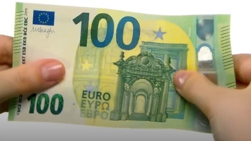 Novas notas de 100 e 200 euros entram em circulação na terça-feira. Completam série Europa