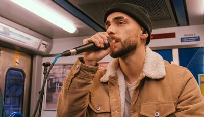 Diogo Piçarra atuou em comboio: veja as fotos do concerto
