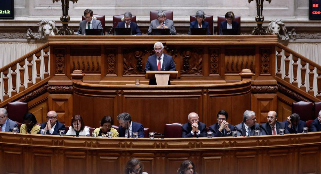 Chega, Iniciativa Liberal e Livre vão ter minuto e meio no debate com António Costa