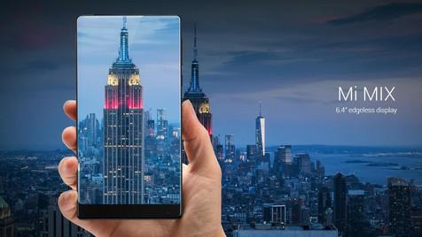 Moldura para que te quero? Xiaomi lança smartphone com 91,3% de ecrã