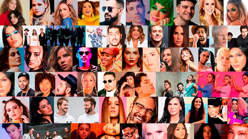 De Avril Lavigne a Daniela Mercury: mais de 60 artistas juntos em festival online e solidário