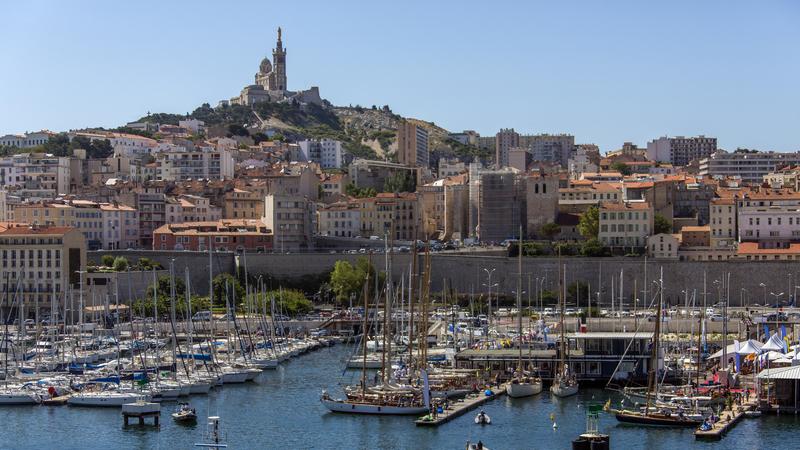 A fascinante cidade de Marselha