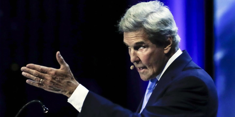 """John Kerry sobre alterações climáticas: """"Não há um único país a fazer aquilo a que se comprometeu em Paris"""""""
