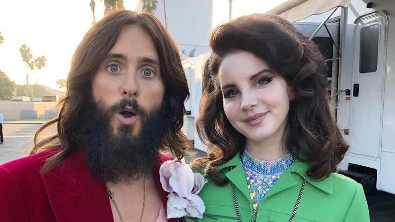 Jared Leto e Lana del Rey revisitam os anos 60 nesta nova campanha da Gucci